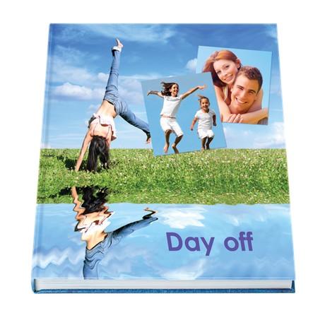 Livre photo hardcover sur papier photo