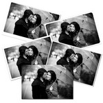 Tirage photo noir et blanc