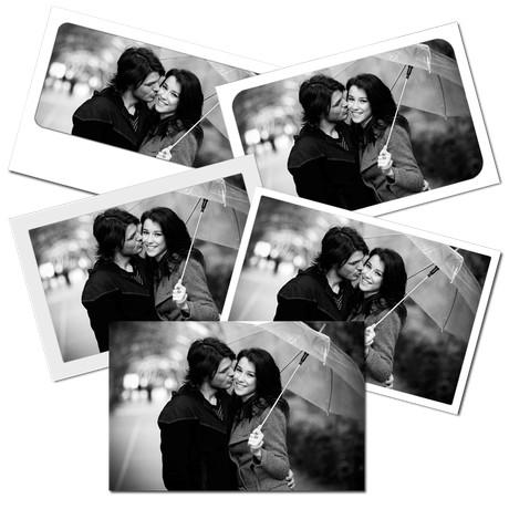 Impressions photos noir et blanc
